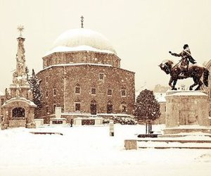 beautiful, city, and snow image