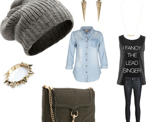 outfit and beenie edgy image