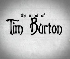 tim burton, black and white, and mind image