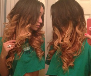 hair, ombre, and perfect! image