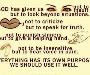 quote, eyes, and god image
