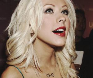 christina aguilera, xtina, and blonde image