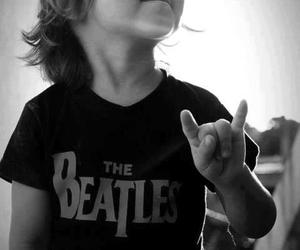 the beatles, rock, and boy image