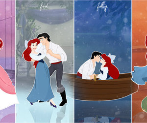 the little mermaid, ariel and prince eric, and grodansnagel image