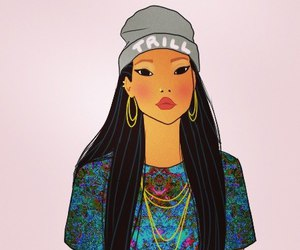 beauty, pocahontas, and style image