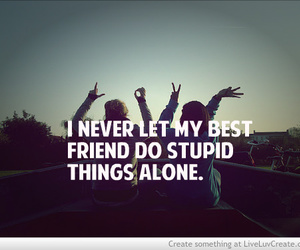 best friends, friends, and quote image