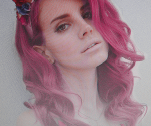 lana del rey, flowers, and grunge image