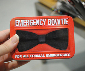 bowtie, emergency, and bow tie image