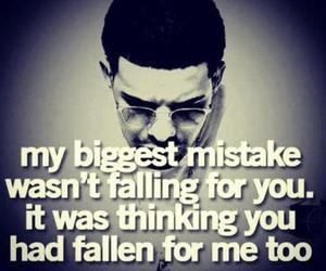 mistake, quote, and sad image