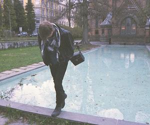 boy, indie, and pool image
