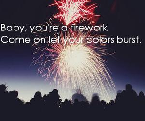 firework and katy perry image