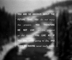 quote, future, and live image