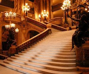 stairs, luxury, and phantom image
