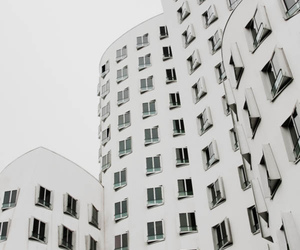 white, building, and photography image