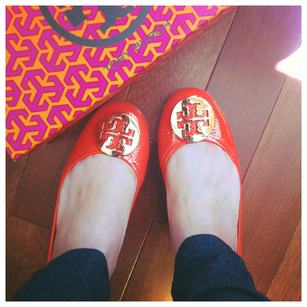 510e6f3bddf post photos of Tory Burch Reva flats.. - Page 31 - PurseForum