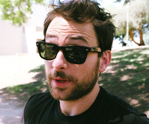 charlie day, beard, and man image