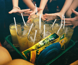 drink, friends, and vintage image