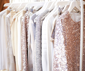 fashion, clothes, and glitter image
