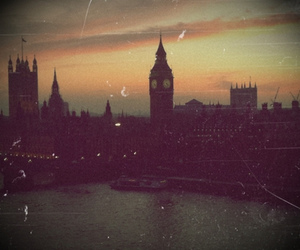 london, vintage, and Big Ben image