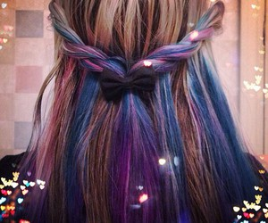 hair, color, and braid image