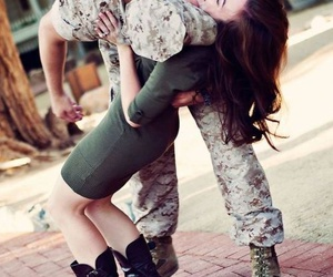 <3, couple, and hair image