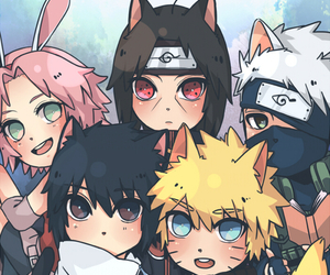 naruto, anime, and kakashi image