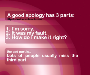 apology, forgiveness, and life image