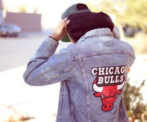 boy, style, and chicago bulls image