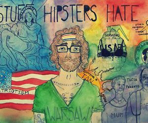 hipster, art, and draw image