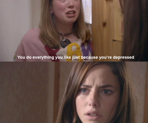 skins, Effy, and depressed image