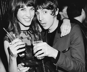 alexa chung, miles kane, and model image