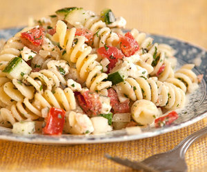 food, greek, and pasta image