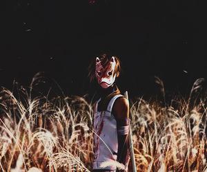 anime, fox mask, and naruto image