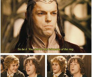 funny, lord of the rings, and merry image