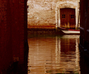 Barca, canal, and italy image