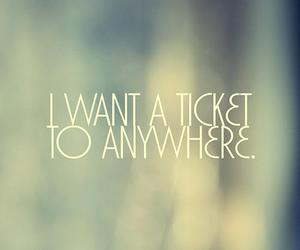 ticket, quote, and anywhere image