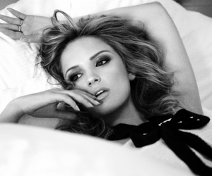 b&w, beautiful, and bed image