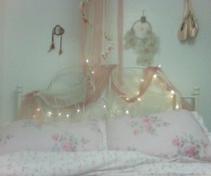 bedroom and pastel image