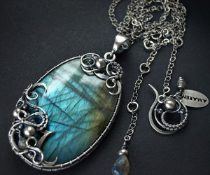 ancient, blue, and jewelry image