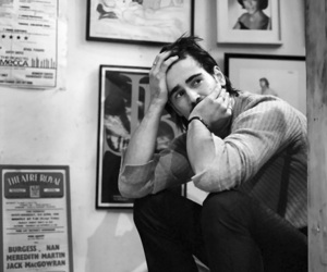 colin farrell and black and white image