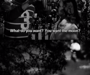 movie, moon, and it's a wonderful life image