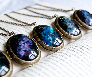 necklace and galaxy image