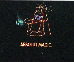 vodka, magic, and absolut image