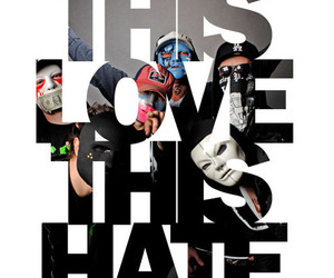 hate, hollywood, and Lyrics image