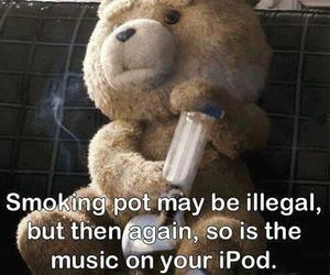 TED, weed, and ipod image