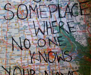 travel, map, and quotes image
