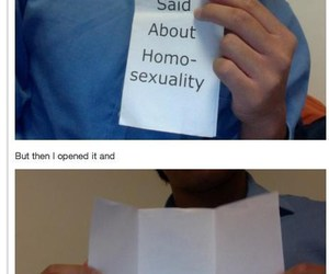 bible, bisexual, and funny image
