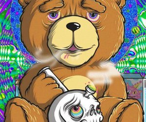 TED, weed, and bear image