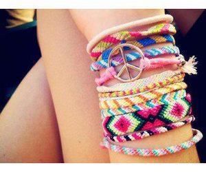 bracelet and summer image
