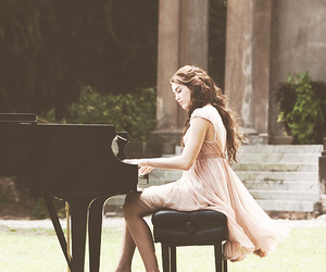 miley cyrus, piano, and the last song image